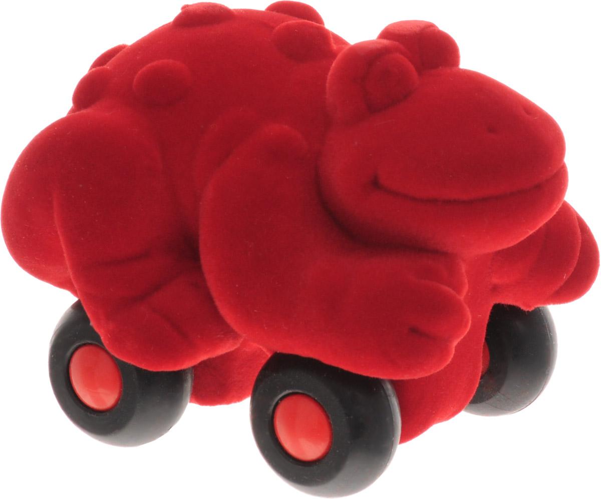 Rubbabu Фигурка функциональная Лягушка цвет красный 20086_красный