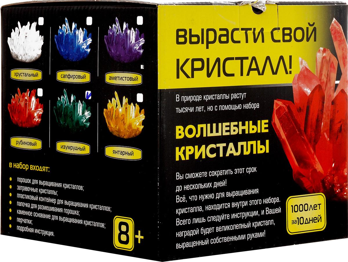 Каррас Набор для исследований Волшебные кристаллы цвет изумрудный