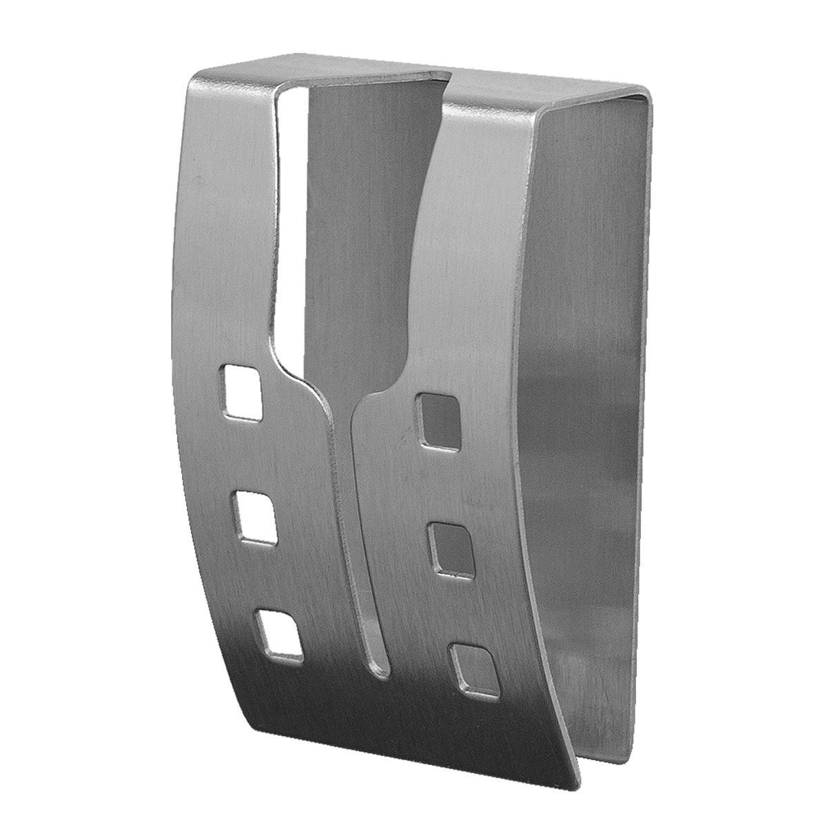 Вешалка самоклеящаяся Tatkraft Emma, для полотенец, 5 х 7,5 х 2 см11861Хромированная самоклеящаяся вешалка для полотенец Tatkraft Emma, изготовлена из нержавеющей стали. Вешалка с современным дизайном не боится влаги, и очень легко крепится к стене. Чтобы зафиксировать вешалку, не нужно сверлить дырки, достаточно снять защитный слой и прочно прижать вешалку к стене. Крепкая, оригинальная вешалка выдерживает вес до 5 кг. Размер вешалки: 5 см х 7,5 см х 2 см. Максимальная нагрузка: 5 кг.