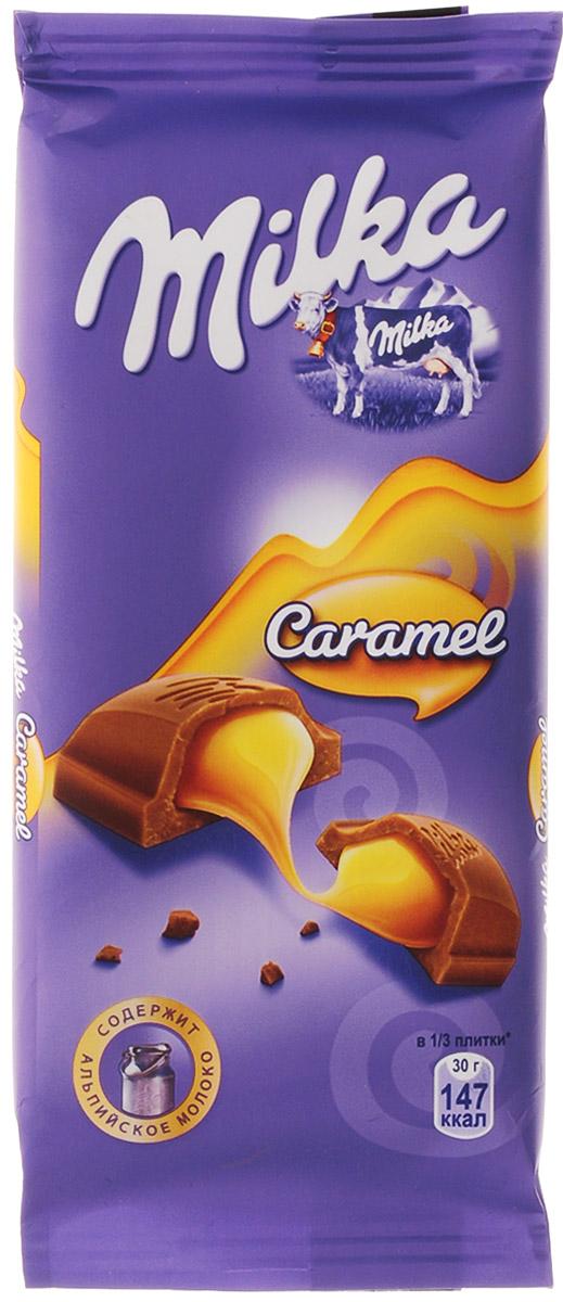 Milka шоколад молочный с карамельной начинкой, 90 г325967, 402156917 ноября 1825 года швейцарский шоколатье и пекарь Филипп Сушард (1797-1884) открыл в Нушатель, Швейцария, пекарню, где он продавал десерты ручной работы. В течение следующего года производство стремительно расширялось, и фабрика была перенесена в соседний Серрер, в помещение, занимаемое ранее водяной мельницей; Филипп ежедневно продавал уже по 25-30 килограммов шоколада Milka. В течение 1890-ых в шоколадную продукцию Suchard начало добавляться молоко. Согласно Хорватским источникам, название для шоколадной продукции Милка было выбрано Филиппом в знак его страсти, почтения и симпатии к хорватской сопрано-певице Милке Терниной (1863-1941). В 1970 компания Suchard слилась со швейцарским производителем Toblerone, образовав этим слиянием Interfood. В 1982 Interfood была объединена с кофейной компанией Jacobs, превратившись в Jacobs Suchard, которая вскоре была приобретена, (включая бренд Milka), компанией Kraft Foods. В октябре 2012 года компания была переименована в Mondelez...
