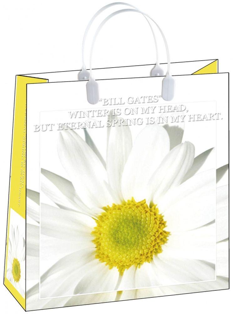 Пакет подарочный Bello, 23 х 10 х 26 см. BAS 67BAS 67Подарочный пакет Bello, изготовленный из пищевого полипропилена, станет незаменимым дополнением к выбранному подарку. Дно изделия укреплено плотным картоном, который позволяет сохранить форму пакета и исключает возможность деформации дна под тяжестью подарка. Для удобной переноски на пакете имеются две пластиковые ручки. Подарок, преподнесенный в оригинальной упаковке, всегда будет самым эффектным и запоминающимся. Окружите близких людей вниманием и заботой, вручив презент в нарядном, праздничном оформлении. Грузоподъемность: 12 кг. Морозостойкость: до -30°С.