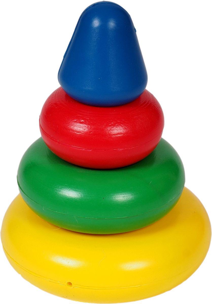 Волшебный городок Пирамидка П-3КП-3КБольше всего пользы принесет ребенку игра с детской пирамидкой, незаменимой развивающей игрушкой. В процессе игры с ней (разборка и сборка, сортировка составных частей по цвету и размеру) у ребенка намного быстрее развивается логическое мышление, улучшается моторика ручек, формируется правильная координация движений. Пирамидка выполнена из высококачественного и безопасного материала, для того, чтобы ваши крохи развивались без вреда для здоровья