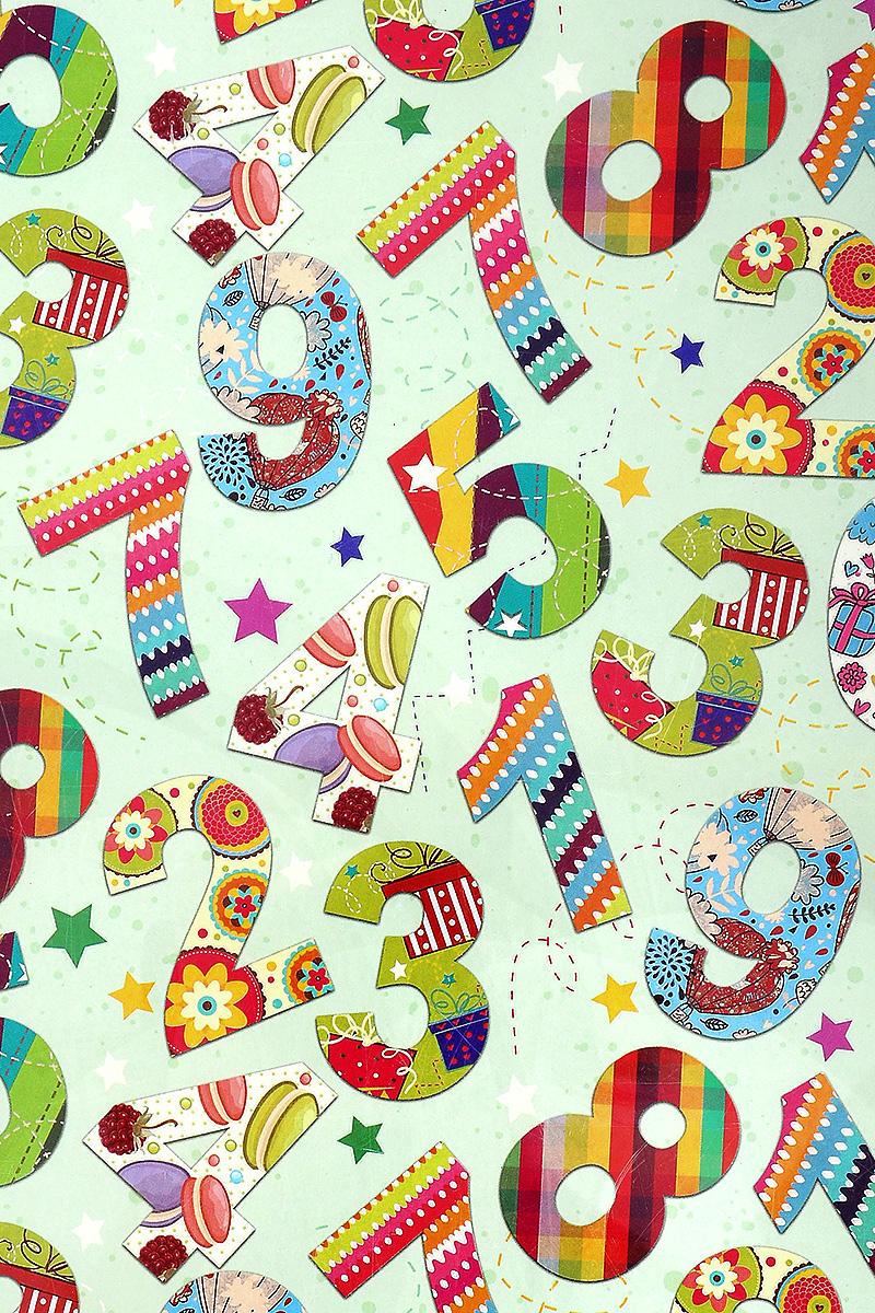 Бумага упаковочная Феникс-Презент Веселый счет, 100 х 70 см41873Упаковочная бумага Феникс-Презент Веселый счет оформлена полноцветным декоративным рисунком. Подарок, преподнесенный в оригинальной упаковке, всегда будет самым эффектным и запоминающимся. Бумага с одной стороны мелованная. Окружите близких людей вниманием и заботой, вручив презент в нарядном, праздничном оформлении. Размер: 100 х 70 см. Плотность бумаги: 80 г/м2.