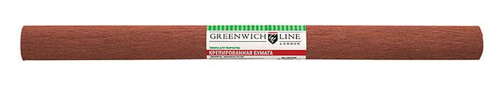 Greenwich Line Бумага крепированная цвет коричневый 50 х 250 см