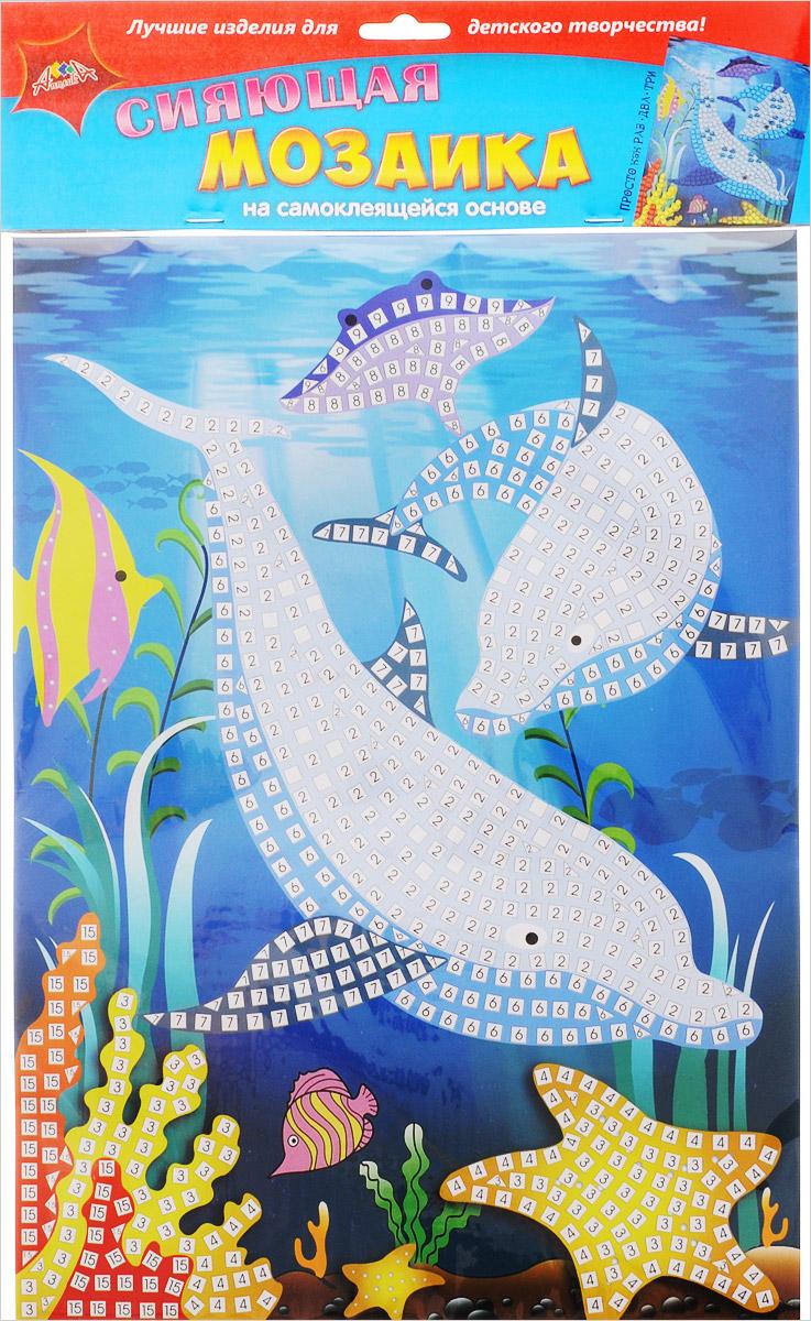 Апплика Мозаика на самоклеящейся основе Дельфин С2258-09