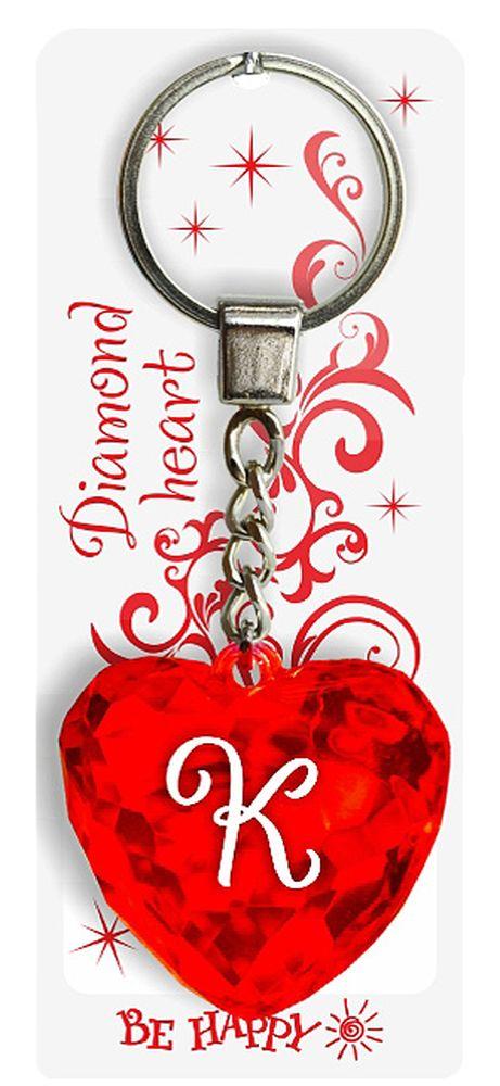 Брелок Be Happy Диамантовое сердце. К52Оригинальный брелок Be Happy Диамантовое сердце, изготовленный из высококачественного пластика, станет отличным подарком. Это не только приятный, но и практичный сувенир для каждодневного использования, ведь такое хрустальное сердце - не просто брелок, а модный аксессуар. Брелоком можно украсить сумочку, детскую коляску или повесить на ключи. Переливающиеся грани и блестящая поверхность создадут гламурный образ. Длина цепочки - 4 см. Диаметр кольца - 2 см.