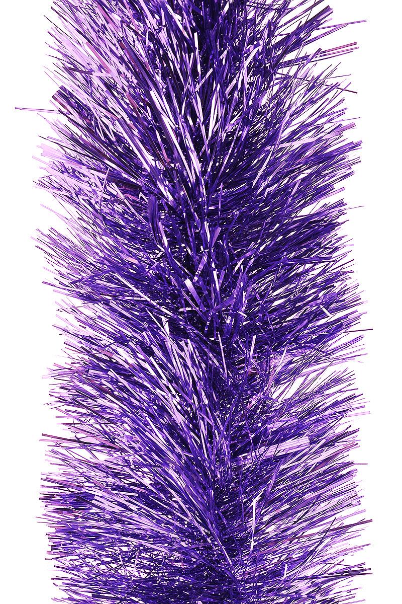 Мишура новогодняя Moranduzzo, цвет: лиловый, диаметр 10 см, длина 2 м117012105Мишура новогодняя Moranduzzo, выполненная из ПВХ, поможет вам украсить свой дом к предстоящим праздникам. Новогодняя елка с таким украшением станет еще наряднее. Новогодней мишурой можно украсить все, что угодно - елку, квартиру, дачу, офис - как внутри, так и снаружи. Можно сложить новогодние поздравления, буквы и цифры, мишурой можно украсить и дополнить гирлянды, можно выделить дверные колонны, оплести дверные проемы.
