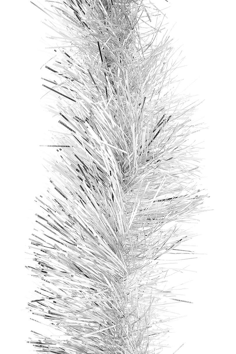 Мишура новогодняя Moranduzzo, цвет: серебряный, диаметр 7,5 см, длина 2 м117752000Мишура новогодняя Moranduzzo, выполненная из ПВХ, поможет вам украсить свой дом к предстоящим праздникам. Новогодняя елка с таким украшением станет еще наряднее. Новогодней мишурой можно украсить все, что угодно - елку, квартиру, дачу, офис - как внутри, так и снаружи. Можно сложить новогодние поздравления, буквы и цифры, мишурой можно украсить и дополнить гирлянды, можно выделить дверные колонны, оплести дверные проемы.