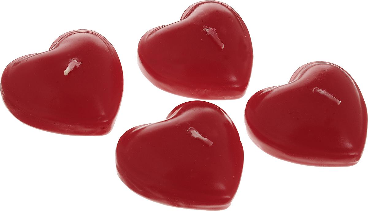Набор декоративных свечей Lovemark Сердце, 6,5 х 6,5 х 3,5 см, 4 штZC309Набор Lovemark Сердце включает 4 декоративные свечи, выполненные в виде сердца. Такие свечи элегантно оформят интерьер вашего дома и станут приятным дополнением романтического вечера. Мерцание свечей создаст особую атмосферу уюта в доме.