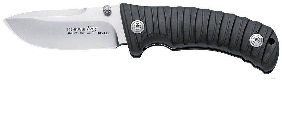"Fox (Sport) Нож складной Fox ""Black Fox"", цвет: черный, длина клинка 9 см. OF/BF-131 B"