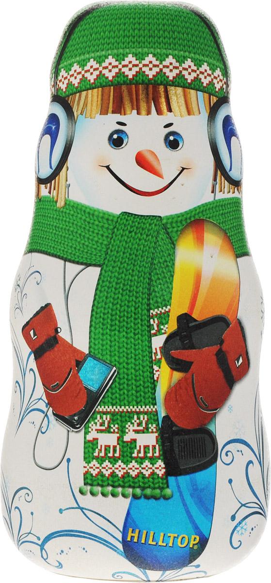 Hilltop Мальчик со сноубордом улун листовой, 100 г (зеленая упаковка)4607099301733Улун листовой Hilltop Мальчик со сноубордом - знаменитый байховый китайский полуферментированный чай типа Оолонг, с нежным ароматом свежих сливок.