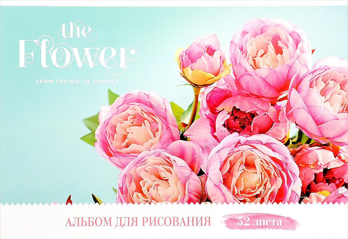 ArtSpace Альбом для рисования Цветы The Flower 32 листаА32ГЛ_9087Альбом для рисования ArtSpace Цветы. The Flower порадует маленького художника и вдохновит его на творчество. Альбом изготовлен из белоснежной бумаги с яркой обложкой из плотного картона. Внутренний блок альбома, соединенный двумя металлическими скрепками, состоит из 32 листов. Высокое качество бумаги позволяет рисовать в альбоме карандашами, фломастерами, акварельными и гуашевыми красками.