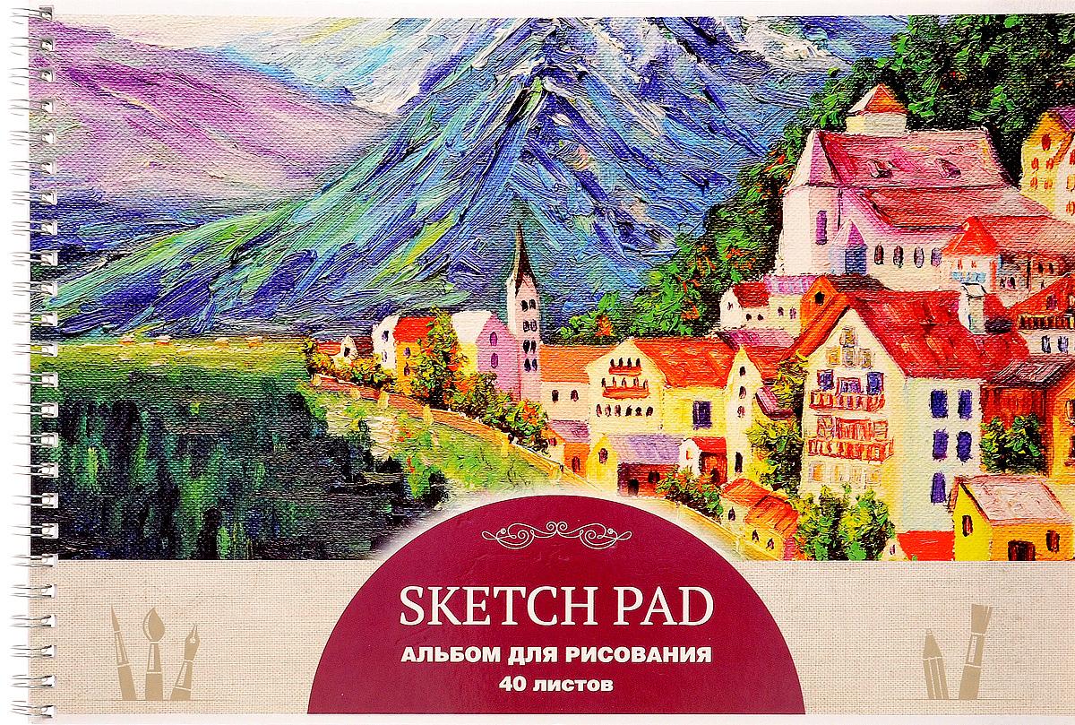 ArtSpace Альбом для рисования Живопись Sketch Pad 40 листов А40спТЛ_9191