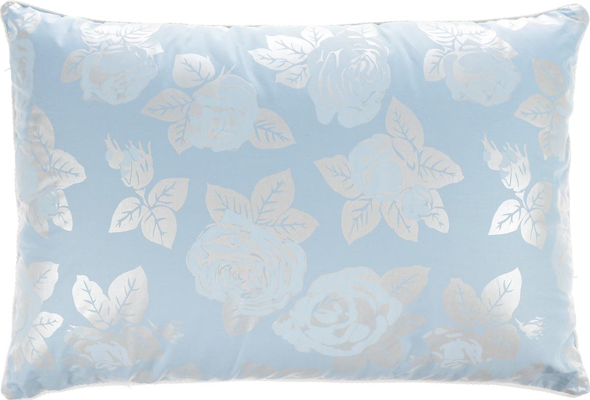 Подушка Smart Textile Лето-осень, наполнитель: лузга гречихи и бамбуковое волокно, 40 х 60 смО654Подушка Smart Textile Лето-осень очень удобная и полезная в использовании. Чехол изделия выполнен из хлопчатобумажной ткани, он устойчив к стиркам и истиранию. Подушка поделена на две секции теплую и прохладную. Прохладная секция наполнена лепестками лузги гречихи. Это уникальный природный наполнитель, придающий подушкам ортопедические свойства, прекрасно пропускает и вентилирует воздух, что препятствует созданию парникового эффекта - идеально для жаркого времени года. Тёплая секция наполнена бамбуковым волокном, мягким и теплым, обладающим свойством благотворно влиять на здоровье кожи. Уникальность обоих наполнителей, исходя из их природных свойств, в том, что ни в одном ни в другом не заводятся паразиты и пыль, они абсолютно экологичны и гипоаллергенны. И жарким летом и прохладной осенью подушка Smart Textile способствует не только комфорту, но и сохранению здоровья.