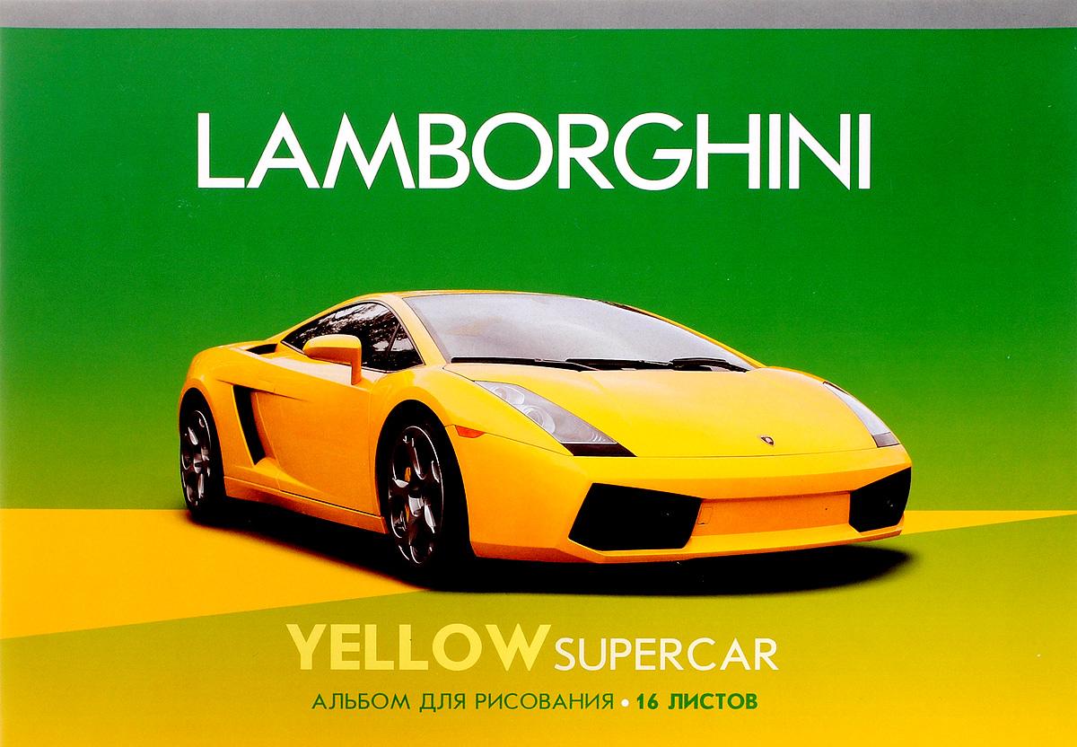ArtSpace Альбом для рисования Lamborghini 16 листовА16_2651Альбом для рисования ArtSpace Lamborghini непременно порадует маленького художника и вдохновит его на творчество. Высокое качество бумаги позволяет карандашам, фломастерам и краскам ровно ложиться на поверхность и не растекаться по листу. Способ крепления - скрепки. В альбоме 16 листов. Во время рисования совершенствуется ассоциативное, аналитическое и творческое мышления. Занимаясь изобразительным творчеством, ребенок тренирует мелкую моторику рук, становится более усидчивым и спокойным и, конечно, приобщается к общечеловеческой культуре.