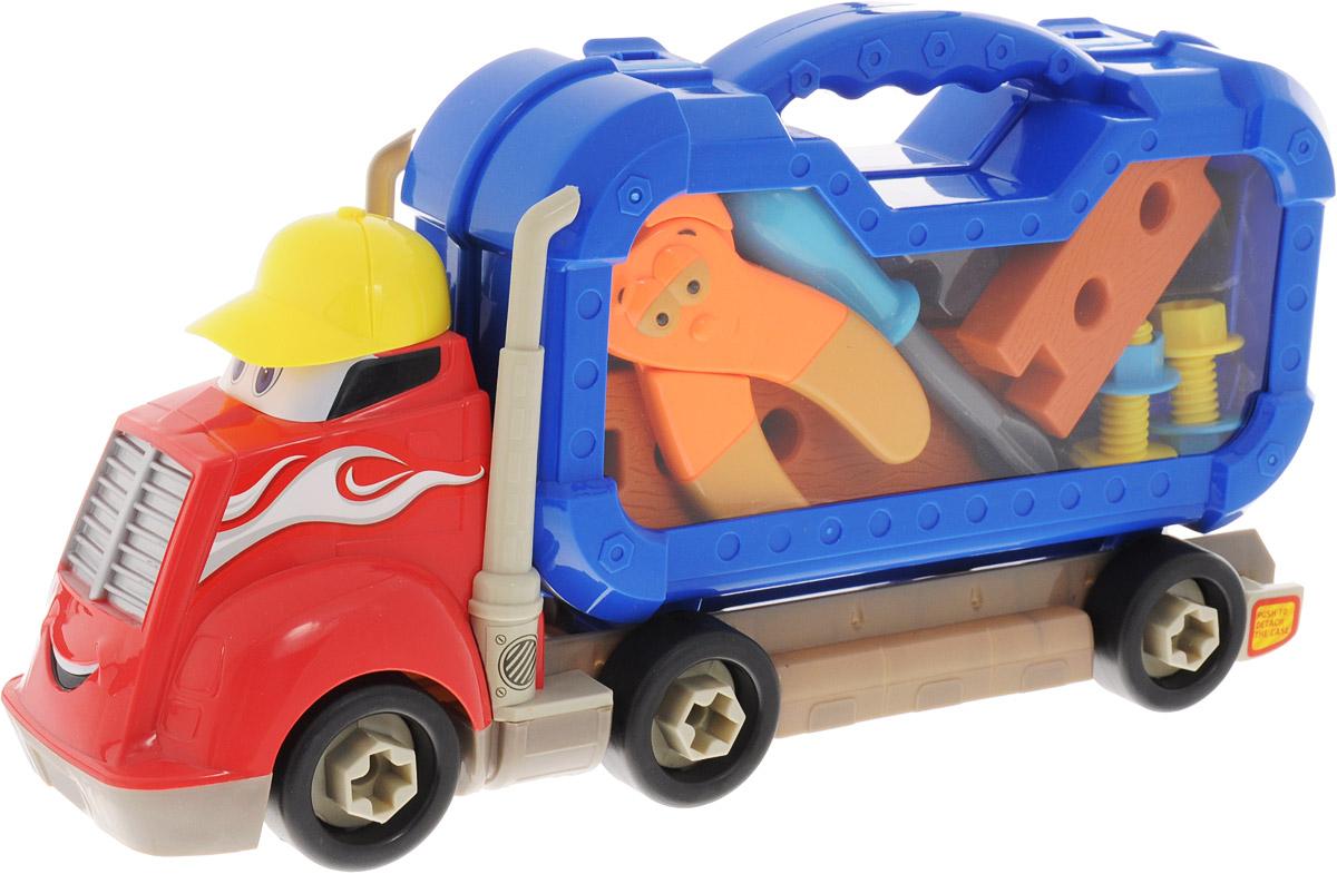 Boley Игровой набор Грузовик Смелый гонщик с инструментами