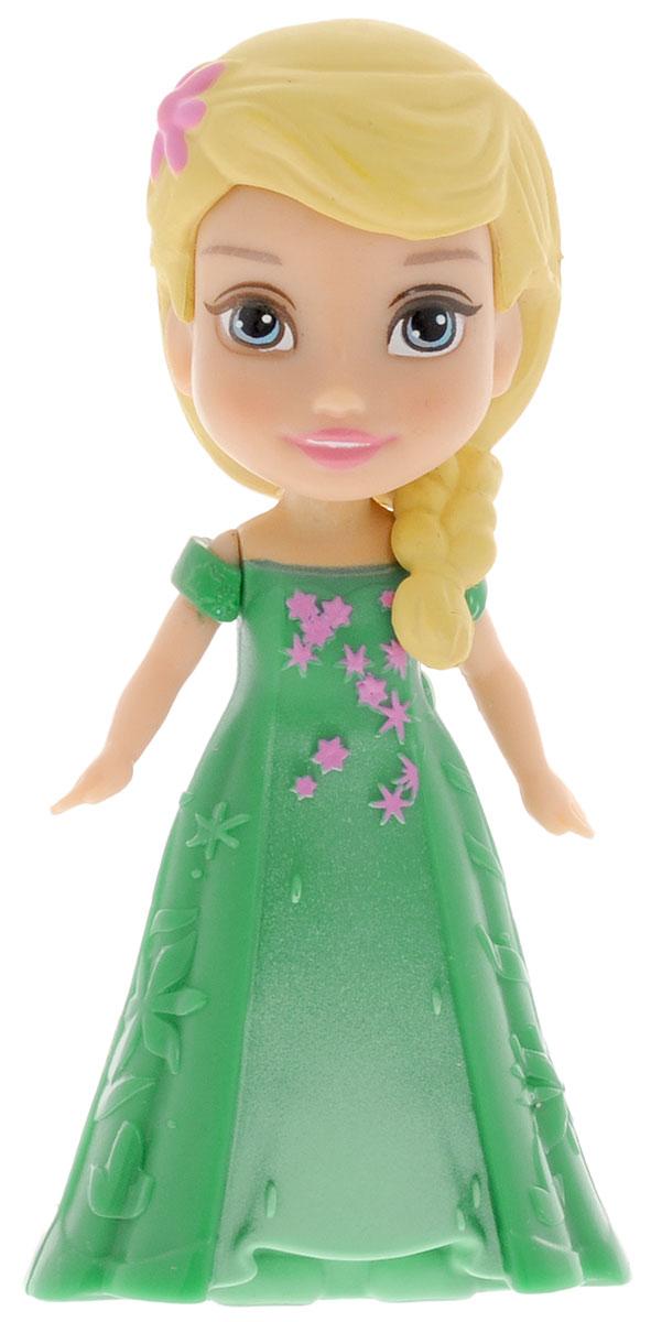 Disney Frozen Мини-кукла Малышка Эльза758960_Elsa 2Мини-кукла Disney Frozen Малышка Эльза непременно понравится вашей дочурке. Кукла в виде прекрасной принцессы полностью выполнена из пластика. На Эльзе зеленое платье. Прическа украшена розовым цветком. Ручки у куколки подвижные. Такая куколка очарует вас и вашу дочурку с первого взгляда! Ваша малышка с удовольствием будет играть с принцессой, проигрывая сюжеты из мультфильма или придумывая различные истории. Порадуйте свою дочурку таким замечательным подарком!