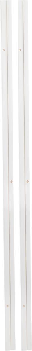 Карниз шинный Эскар, составной, однорядный, с аксессуарами, цвет: белый, длина 3 м270007300Однорядный составной шинный карниз Эскар, выполненный из пластика, подходит для штор любого типа. Такой вид карнизов прост по конструкции (шины и бегунки) и будет практически не заметен. Способ крепления потолочный. Помимо практичности, шинный карниз обладает рядом других преимуществ: при открытии и закрытии штор он создает минимум шума. Такой карниз также является водостойким, что позволяет использовать его в ванной комнате и на балконе. Он подойдет для любых видов штор, за исключением очень тяжелых тканей. В комплекте - 2 части карниза, 28 крючков, аксессуары для крепления.