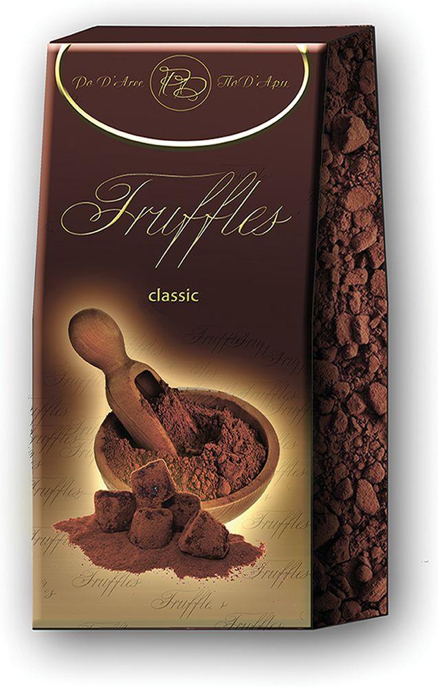 Chocolat Mathez Набор конфет Трюфель французский классический, 200 гУТ-00005222Настоящий трюфель французских Шоколатье