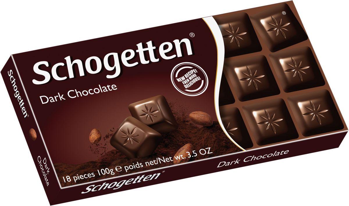 Schogetten Dark Темный шоколад, 100 г50587589Шоколад который не нужно ломать