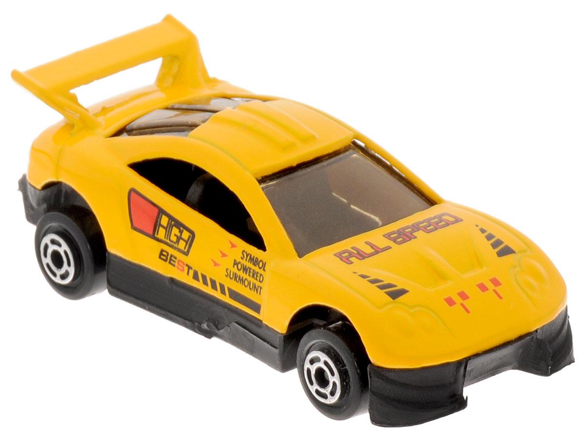 Big Motors Машинка цвет желтыйJP632Машинка Big Motors станет любимой игрушкой вашего малыша. Игрушка представляет собой спортивную машину. Колеса имеют свободный ход. Ваш ребенок будет часами играть с этой машинкой, придумывая различные истории.