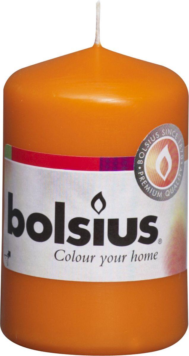 Свеча Bolsius, цвет: оранжевый, высота 8 см103613200136