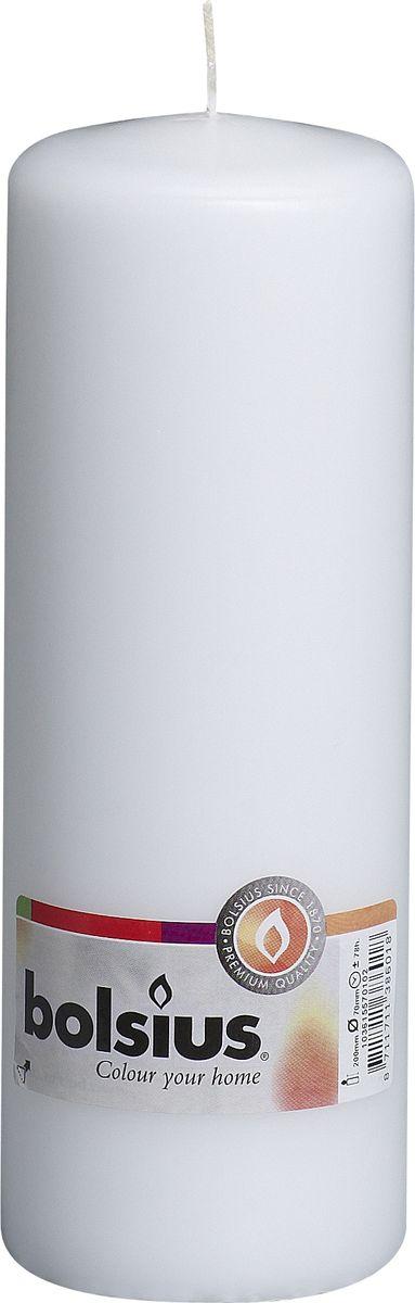 Свеча Bolsius, цвет: белый, высота 20 см103615570102Свеча Bolsius выполнена из парафина в классическом стиле. Ее можно поставить в любое место и она станет ярким украшением интерьера. Свеча Bolsius создаст незабываемую атмосферу, будь то торжество, романтический вечер или будничный день.