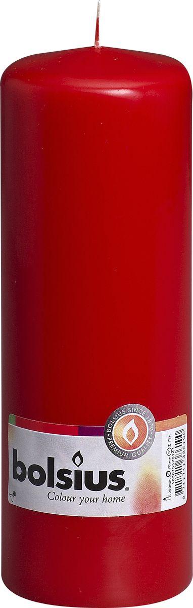 """Свеча """"Bolsius"""", цвет: красный, высота 20 см"""