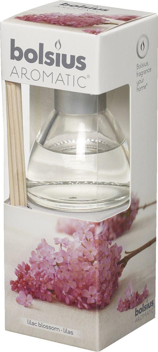 Диффузор ароматический Bolsius Сирень, 45 мл103626800451Ароматический диффузор Bolsius - это простое, изящное и долговременное решение, как наполнить дом или офис приятным запахом. Диффузор - это не просто освежитель воздуха, а элемент декора, который окутает вас своим приятным и нежным ароматом. Отлично подойдет в качестве подарка. Способ применения: поместите палочки в вазу с ароматической жидкостью. Степень интенсивности запаха может регулироваться объемом ароматической жидкости и количеством палочек. Товар сертифицирован.