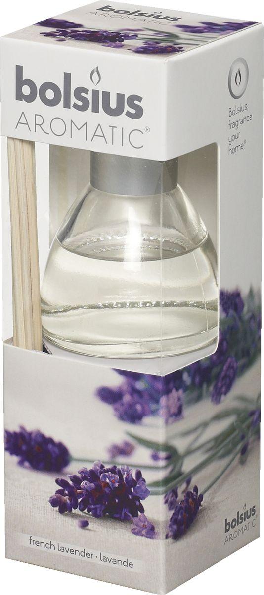 Диффузор ароматический Bolsius Лаванда, 45 мл103626800477Ароматический диффузор Bolsius - это простое, изящное и долговременное решение, как наполнить дом или офис приятным запахом. Диффузор - это не просто освежитель воздуха, а элемент декора, который окутает вас своим приятным и нежным ароматом. Отлично подойдет в качестве подарка. Способ применения: поместите палочки в вазу с ароматической жидкостью. Степень интенсивности запаха может регулироваться объемом ароматической жидкости и количеством палочек. Товар сертифицирован.
