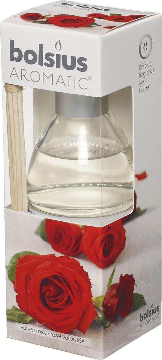 Диффузор ароматический Bolsius Роза, 45 мл103626800481Ароматический диффузор Bolsius - это простое, изящное и долговременное решение, как наполнить дом или офис приятным запахом. Диффузор - это не просто освежитель воздуха, а элемент декора, который окутает вас своим приятным и нежным ароматом. Отлично подойдет в качестве подарка. Способ применения: поместите палочки в вазу с ароматической жидкостью. Степень интенсивности запаха может регулироваться объемом ароматической жидкости и количеством палочек. Товар сертифицирован.