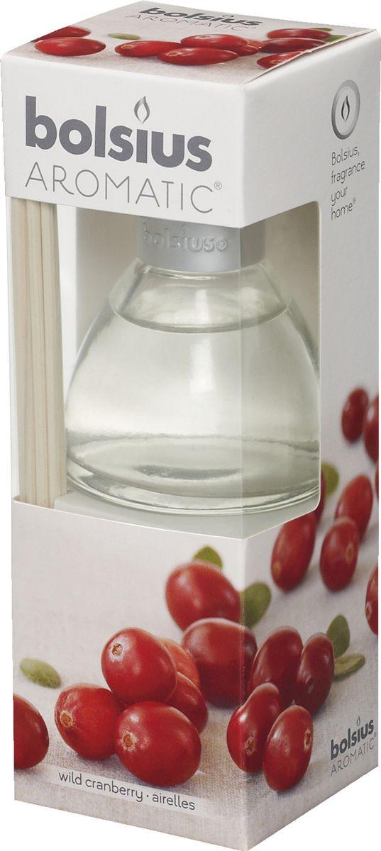 Диффузор ароматический Bolsius Клюква, 45 мл103626800489Ароматический диффузор Bolsius - это простое, изящное и долговременное решение, как наполнить дом или офис приятным запахом. Диффузор - это не просто освежитель воздуха, а элемент декора, который окутает вас своим приятным и нежным ароматом. Отлично подойдет в качестве подарка. Способ применения: поместите палочки в вазу с ароматической жидкостью. Степень интенсивности запаха может регулироваться объемом ароматической жидкости и количеством палочек. Товар сертифицирован.