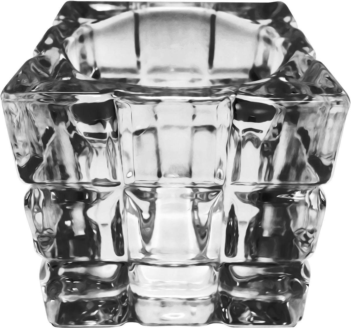 Подсвечник для чайной свечи Bolsius, 6,5 х 6,5 см466189Подсвечник Bolsius, выполненный из стекла, станет отличным украшением интерьера. Мерцание свечи в таком подсвечнике создаст атмосферу романтики и уюта. Благодаря изысканному дизайну, изделие сможет стать отличным подарком для ваших друзей и близких.