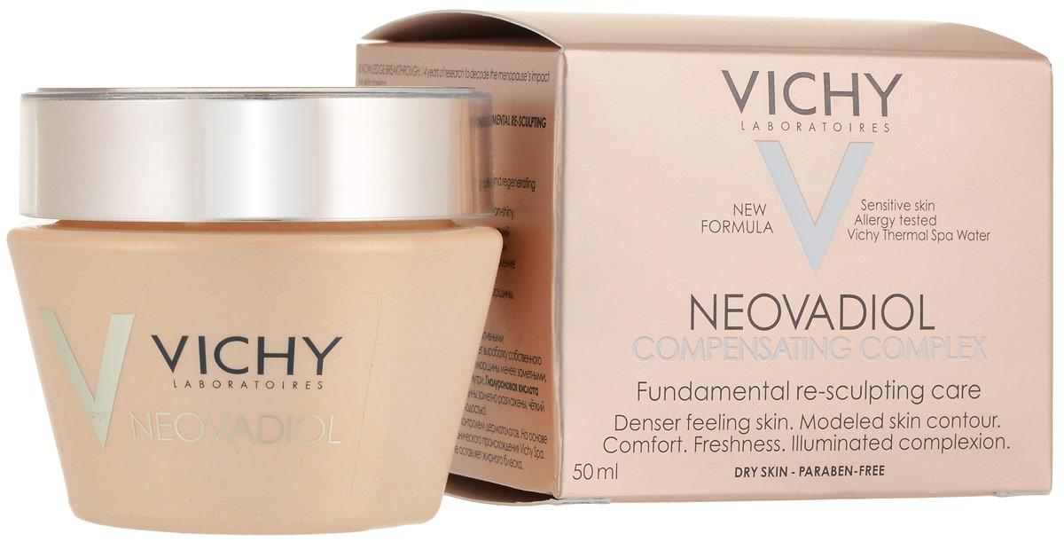 Vichy Neovadiol Компенсирующий комплекс крем-уход для кожи в период менопаузы для сухой и очень сухой кожи, 50 мл (VICHY)
