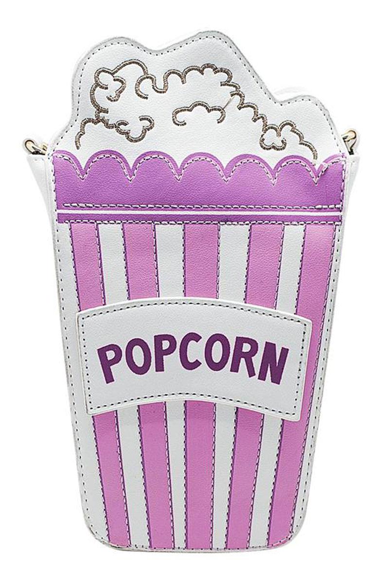 Сумка женская Kawaii Factory Popcorn, цвет: розовый. KW100-000158KW100-000158