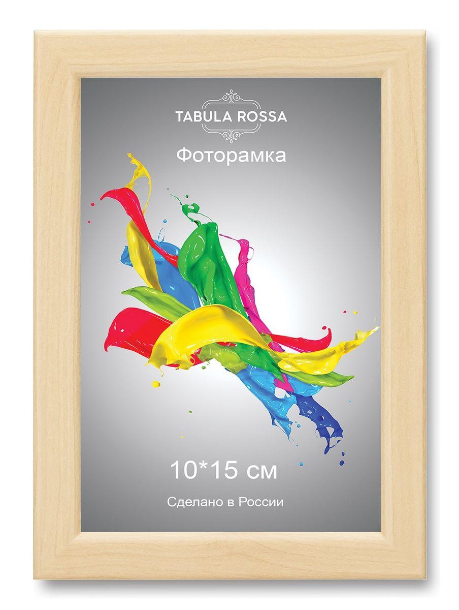 Фоторамка Tabula Rossa, цвет: клен, 10 х 15 см. ТР 5117ТР 5117Фоторамка Tabula Rossa выполнена в классическом стиле из высококачественного МДФ и стекла, защищающего фотографию. Оборотная сторона рамки оснащена специальной ножкой, благодаря которой ее можно поставить на стол или любое другое место в доме или офисе. Также изделие дополнено двумя специальными креплениями для подвешивания на стену. Такая фоторамка не теряет своих свойств со временем, не деформируется и не выцветает. Она поможет вам оригинально и стильно дополнить интерьер помещения, а также позволит сохранить память о дорогих вам людях и интересных событиях вашей жизни.