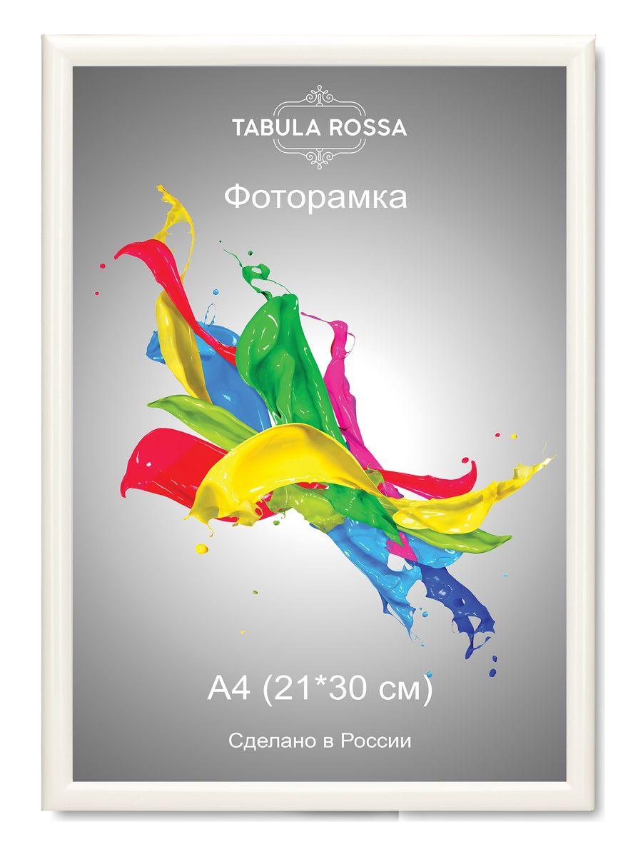 Фоторамка Tabula Rossa, цвет: белый глянец, 21 х 30 см. ТР 6005ТР 6005