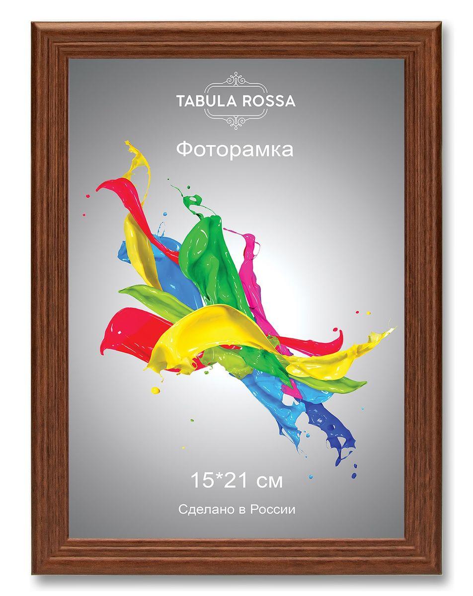 Фоторамка Tabula Rossa, цвет: орех, 15 х 21 см. ТР 6019ТР 6019Фоторамка Tabula Rossa выполнена в классическом стиле из высококачественного МДФ и стекла, защищающего фотографию. Оборотная сторона рамки оснащена специальной ножкой, благодаря которой ее можно поставить на стол или любое другое место в доме или офисе. Также изделие дополнено двумя специальными креплениями для подвешивания на стену. Такая фоторамка не теряет своих свойств со временем, не деформируется и не выцветает. Она поможет вам оригинально и стильно дополнить интерьер помещения, а также позволит сохранить память о дорогих вам людях и интересных событиях вашей жизни.