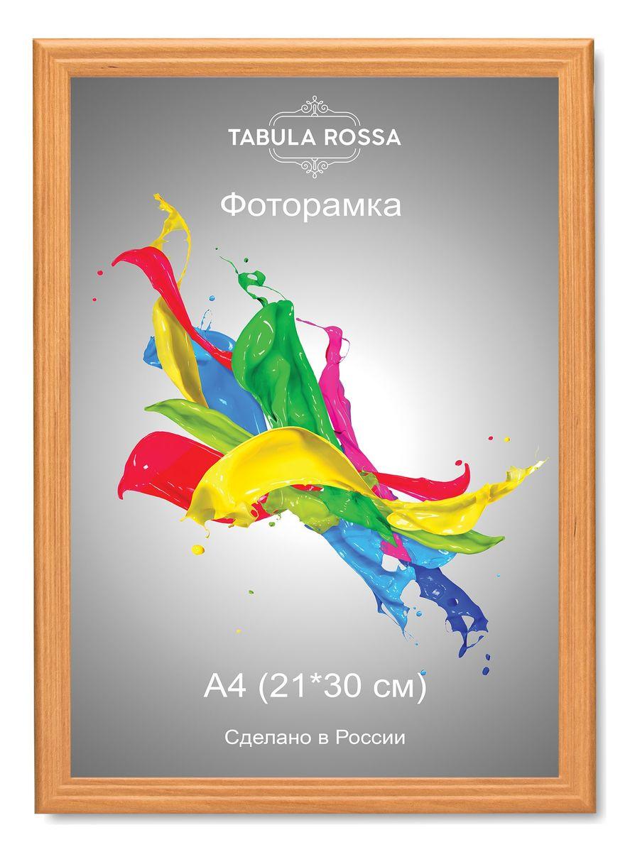Фоторамка Tabula Rossa, цвет: ольха, 21 х 30 см. ТР 6020ТР 6020Фоторамка Tabula Rossa выполнена в классическом стиле из высококачественного МДФ и стекла, защищающего фотографию. Оборотная сторона рамки оснащена специальной ножкой, благодаря которой ее можно поставить на стол или любое другое место в доме или офисе. Также изделие дополнено двумя специальными креплениями для подвешивания на стену. Такая фоторамка не теряет своих свойств со временем, не деформируется и не выцветает. Она поможет вам оригинально и стильно дополнить интерьер помещения, а также позволит сохранить память о дорогих вам людях и интересных событиях вашей жизни.