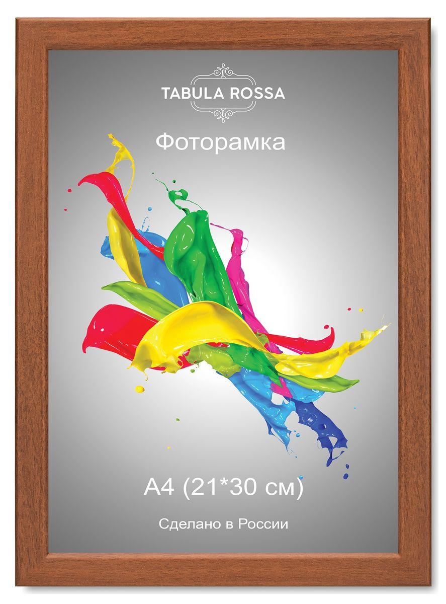 Фоторамка Tabula Rossa, цвет: орех, 21 х 30 см. ТР 6025ТР 6025Фоторамка Tabula Rossa выполнена в классическом стиле из высококачественного МДФ и стекла, защищающего фотографию. Оборотная сторона рамки оснащена специальной ножкой, благодаря которой ее можно поставить на стол или любое другое место в доме или офисе. Также изделие дополнено двумя специальными креплениями для подвешивания на стену. Такая фоторамка не теряет своих свойств со временем, не деформируется и не выцветает. Она поможет вам оригинально и стильно дополнить интерьер помещения, а также позволит сохранить память о дорогих вам людях и интересных событиях вашей жизни.
