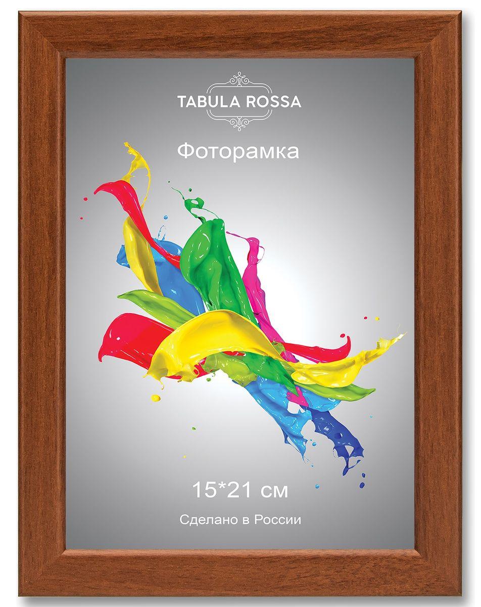 Фоторамка Tabula Rossa, цвет: орех, 15 х 21 см. ТР 6027ТР 6027Фоторамка Tabula Rossa выполнена в классическом стиле из высококачественного МДФ и стекла, защищающего фотографию. Оборотная сторона рамки оснащена специальной ножкой, благодаря которой ее можно поставить на стол или любое другое место в доме или офисе. Также изделие дополнено двумя специальными креплениями для подвешивания на стену. Такая фоторамка не теряет своих свойств со временем, не деформируется и не выцветает. Она поможет вам оригинально и стильно дополнить интерьер помещения, а также позволит сохранить память о дорогих вам людях и интересных событиях вашей жизни.