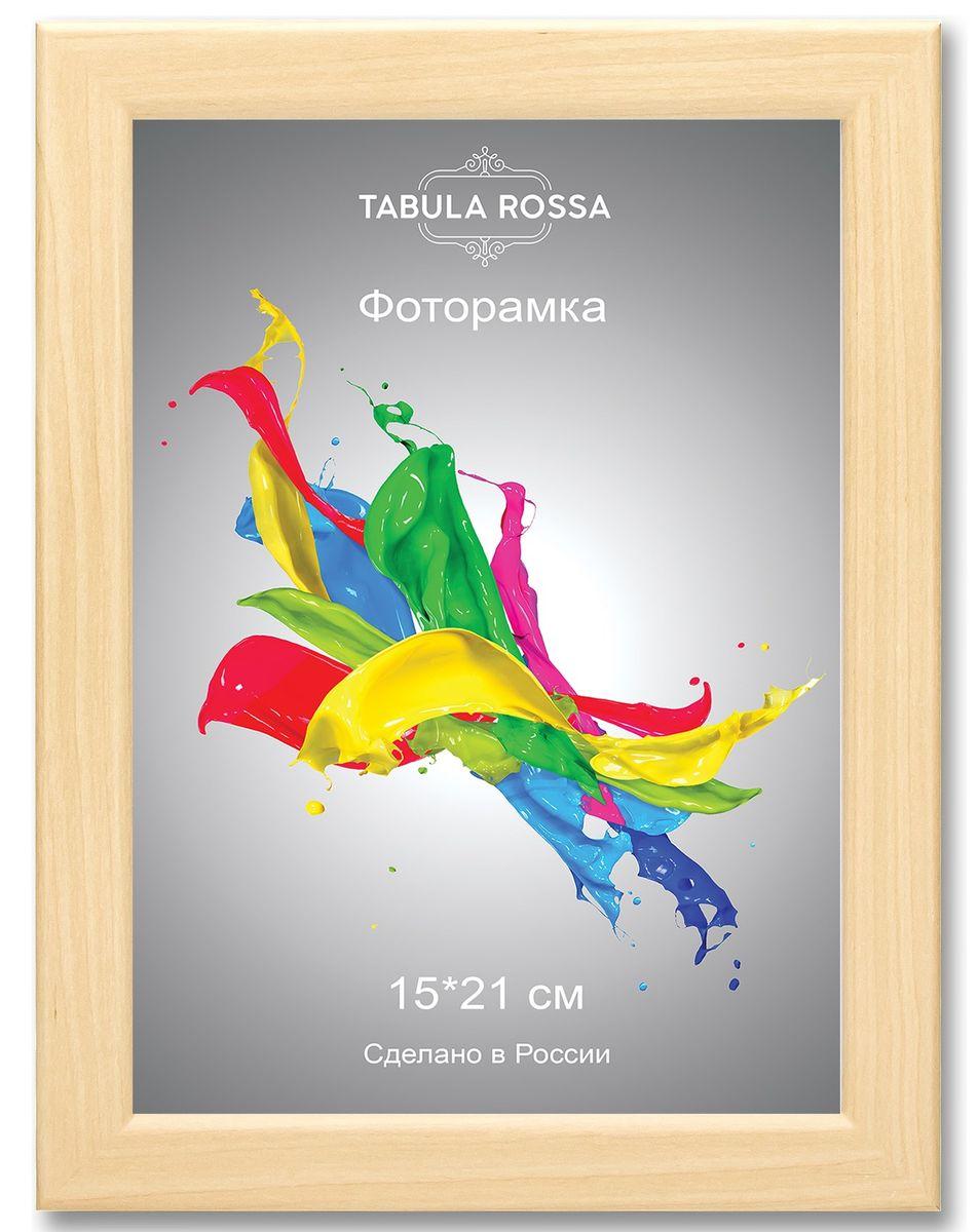Фоторамка Tabula Rossa, цвет: клен, 15 х 21 см. ТР 6035ТР 6035Фоторамка Tabula Rossa выполнена в классическом стиле из высококачественного МДФ и стекла, защищающего фотографию. Оборотная сторона рамки оснащена специальной ножкой, благодаря которой ее можно поставить на стол или любое другое место в доме или офисе. Также изделие дополнено двумя специальными креплениями для подвешивания на стену. Такая фоторамка не теряет своих свойств со временем, не деформируется и не выцветает. Она поможет вам оригинально и стильно дополнить интерьер помещения, а также позволит сохранить память о дорогих вам людях и интересных событиях вашей жизни.