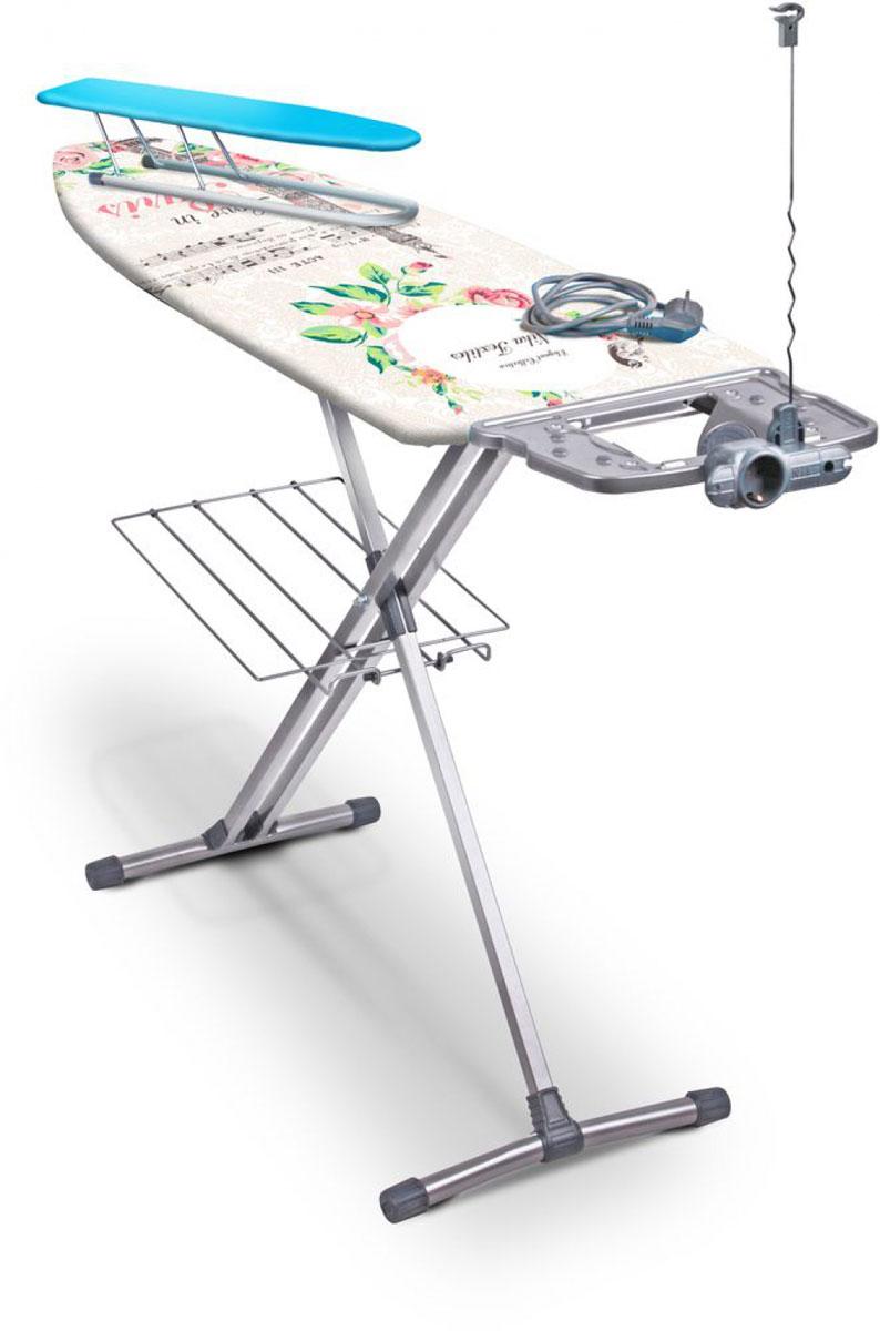 Гладильная доска Nika Ника 9, с удлинителемН9Гладильный стол из металлического листа с отверстиями. Свободное прохождение и отражение пара благодаря перфорированной поверхности Плавная регулировка высоты до 0,9 м EURO подставка под утюг с термостойкими силиконовыми заклепками, специально для утюгов с тефлоновым покрытием Чехол из качественных х/б тканей ярких расцветок (для Н9) Тефлоновый чехол, обладающий повышенными термо-, влаго-, грязеустойчивыми свойствами (для НТ9) Уважаемые клиенты! Обращаем ваше внимание на возможные изменения в дизайне, связанные с ассортиментом продукции: цвет изделия или отдельных деталей может отличаться от представленного на изображении. Поставка осуществляется в зависимости от наличия на складе.