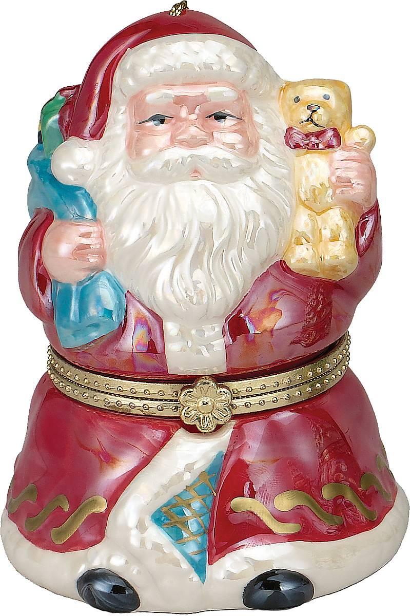 Композиция музыкальная Mister Christmas Дед Мороз, высота 11 смG16321Новогодняя музыкальная композиция Mister Christmas Дед Мороз станет оригинальным презентом на праздник. Внутри сувенира разворачивается анимированная новогодняя сценка, которая сопровождается приятной рождественской мелодией. Сувенир сделан исключительно из качественных материалов и покрыт стойкими красками. Новогодние украшения всегда несут в себе волшебство и красоту праздника. Создайте в своем доме атмосферу тепла, веселья и радости, украшая его всей семьей. Высота композиции: 11 см.