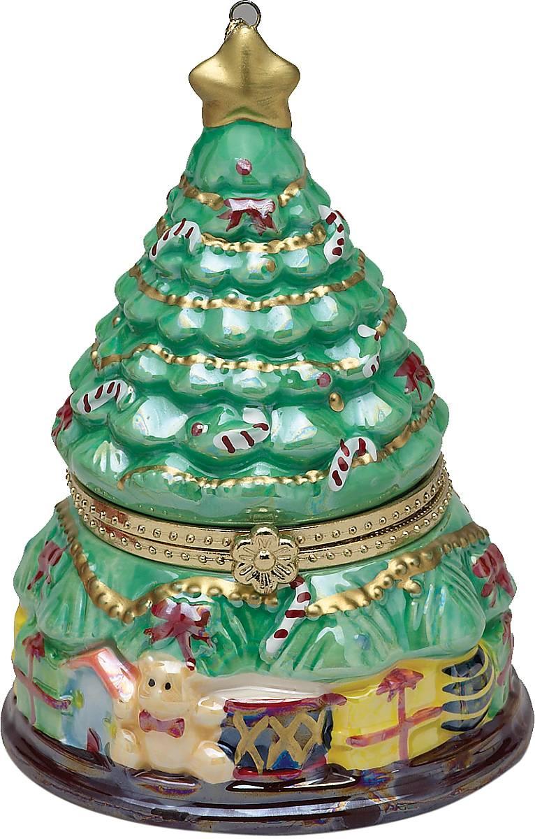 Композиция музыкальная Mister Christmas Елочка, высота 11 смG16323Новогодняя музыкальная композиция Mister Christmas Елочка станет оригинальным презентом на праздник. Внутри сувенира разворачивается анимированная новогодняя сценка, которая сопровождается приятной рождественской мелодией. Сувенир сделан исключительно из качественных материалов и покрыт стойкими красками. Новогодние украшения всегда несут в себе волшебство и красоту праздника. Создайте в своем доме атмосферу тепла, веселья и радости, украшая его всей семьей. Высота композиции: 11 см.