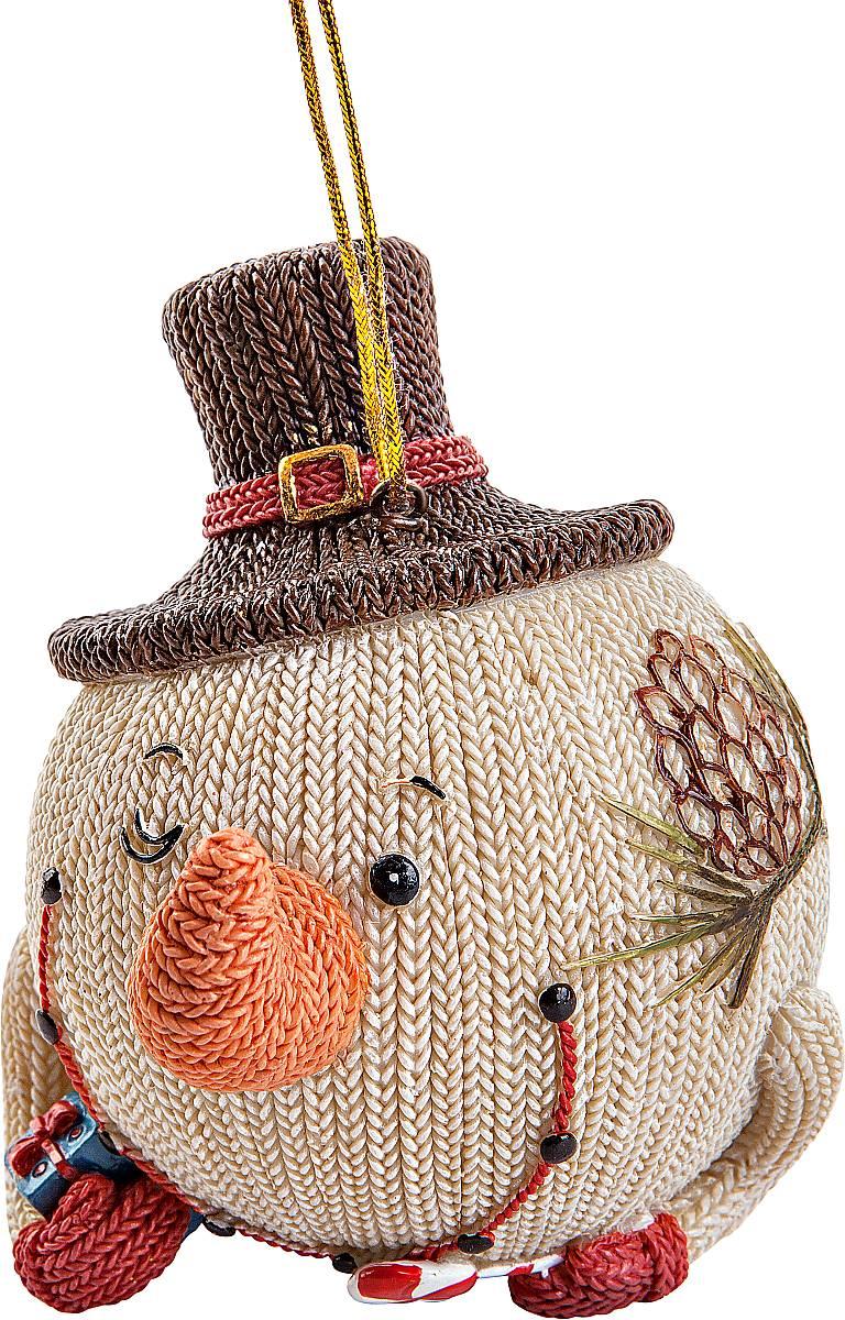 Статуэтка Mister Christmas Снеговик в шляпе. SM-22ASM-22A