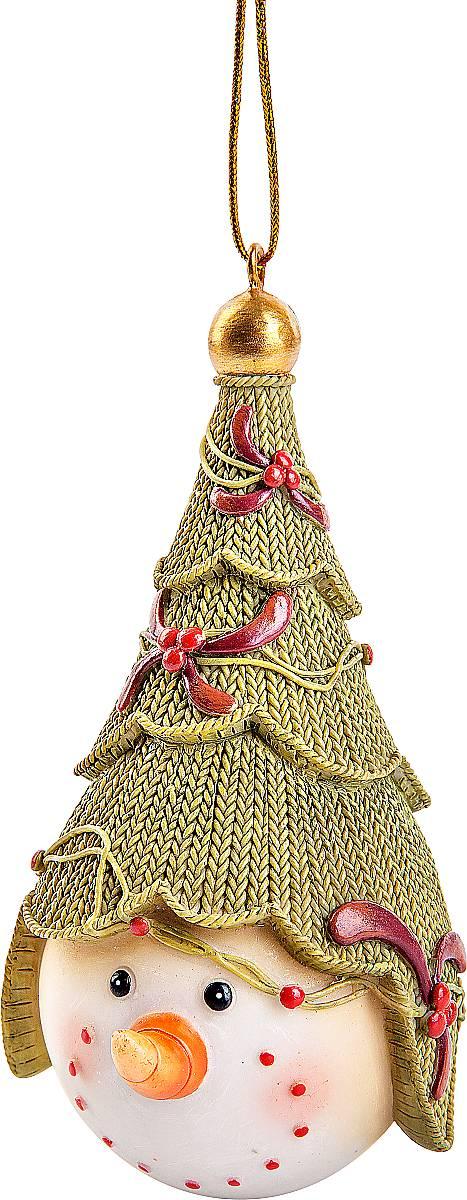 Статуэтка Mister Christmas Снеговик с елкойSM-23A