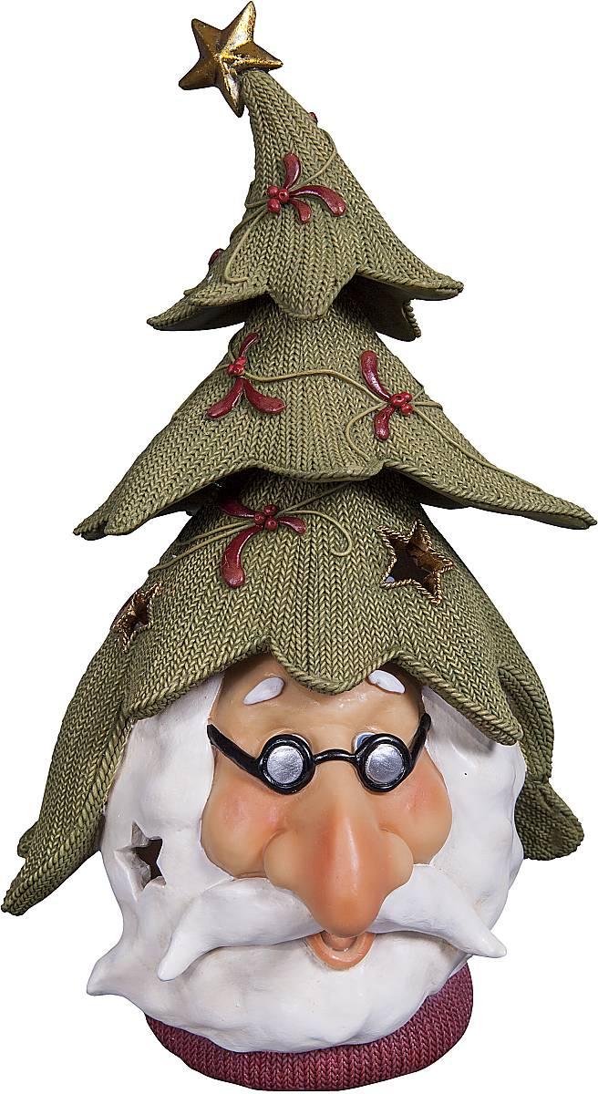 Статуэтка Mister Christmas Дед Мороз, высота 24,5 см. SM-4ASM-4AСтатуэтка Mister Christmas Дед Мороз выполнена из полистоуна в виде головы Деда Мороза. Она привлекает к себе внимание и буквально умиляет, заставляя улыбнуться. Такой сувенир станет отличным подарком родным или друзьям на Новый год, а также он украсит интерьер вашего дома или офиса. Высота статуэтки: 24,5 см.