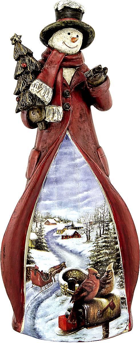 Украшение новогоднее декоративное Mister Christmas Снеговик, высота 22 смTM-S-2Украшение новогоднее декоративное Mister Christmas Снеговик прекрасно подойдет для праздничного декора вашего дома. Изделие выполнено из полистоуна. Новогодние украшения несут в себе волшебство и красоту праздника. Они помогут вам украсить дом к предстоящим праздникам и оживить интерьер. Создайте в доме атмосферу тепла, веселья и радости, украшая его всей семьей. Кроме того, такая игрушка станет приятным подарком, который надолго сохранит память этого волшебного времени года.