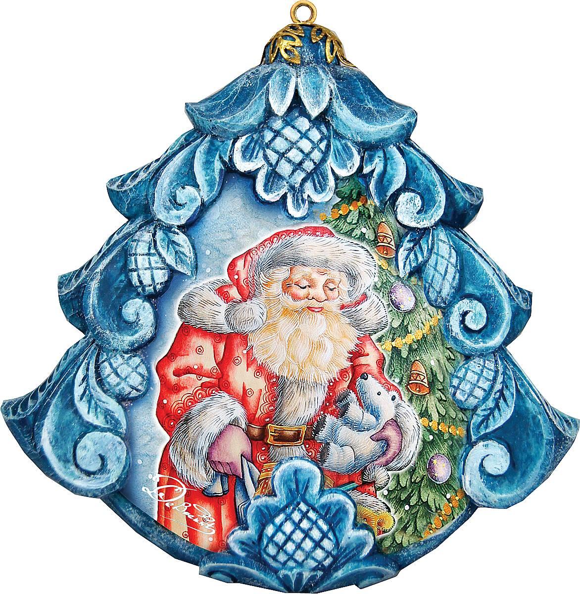 Украшение новогоднее подвесное Mister Christmas, коллекционное, высота 10 см. US 610271US 610271Коллекционное украшение Mister Christmas прекрасно подойдет для праздничного декора вашего дома. Изделие выполнено из полистоуна и оснащено креплением для подвешивания на елку. Новогодние украшения несут в себе волшебство и красоту праздника. Они помогут вам украсить дом к предстоящим праздникам и оживить интерьер. Создайте в доме атмосферу тепла, веселья и радости, украшая его всей семьей. Кроме того, такая игрушка станет приятным подарком, который надолго сохранит память этого волшебного времени года. Высота украшения: 10 см.